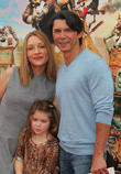 Yvonne Boismier Phillips, Indigo Sanara Phillips and Lou Diamond Phillips