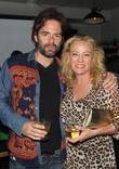 Billy Burke and Virginia Madsen
