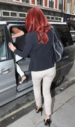 Amy Childs leaving Victoria Beckham's store