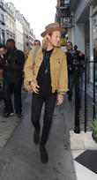 Ellie Goulding spotted leaving BBC Radio 1 to go shopping and meet her boyfriend