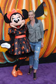 Jaime Pressly and Minnie Mouse