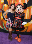 Rebecca Herbst and Minnie Mouse
