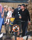 Petra Ecclestone, James Stunt and Lavinia Stunt