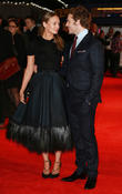 Laura Haddock and Sam Claflin