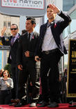 Donnie Wahlberg, Danny Wood and Jordan Knight