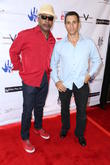 Carl Weathers and Adrian Paul