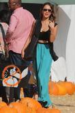 Jessica Alba, Mr Bones Pumpkin Patch in West Hollywood