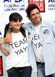 Pauley Perrette and Dick Donato