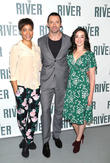 Cush Jumbo, Hugh Jackman and Laura Donnelly