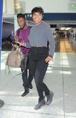 Jennifer Hudson arrives at Los Angeles International Airport (LAX)