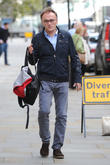 Danny Boyle seen out in London