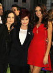 Sara Gilbert, Sharon Osbourne and Terri Seymour