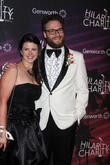 Stephanie Buffaloe and Seth Rogen
