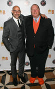 Stanley Tucci and Mario Batali