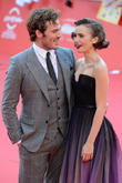 Lily Collins and Sam Claflin