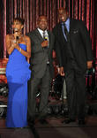 Rodney Peete, Holly Robinson Peete and Magic Johnson