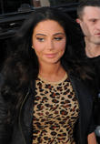Tulisa Contostavlos arrives at Capital FM