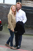 Noel Edmonds and Elizabeth Davies