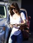 Minka Kelly tips the valet $20 as she leaves Meche Salon in Beverly Hills