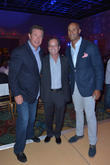 Dan Marino, Mark Levinson and Jason Taylor