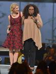 Elizabeth Gilbert and Oprah Winfrey