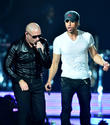 Enrique Iglesias Excited To Tour With His 'Brother' Pitbull