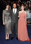 Anne Hathaway, Matthew McConaughey, Jessica Chastain, Odeon Leicester Square