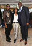 Jr Johnson, Cookie Johnson and Magic Johnson