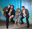 Kelly Ripa, Michael Strahan, Art Moore and Michael Gelman