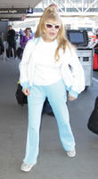 Charo depart from Los Angeles International Airport