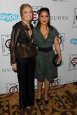 Gloria Steinem and Salma Hayek Pinault