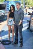 Derek Hough and Bethany Mota