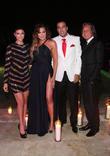 Shiva Safai, Khloé Kardashian, French Montana and Mohammed Hadid