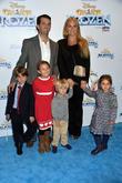 Donald Trump Jr., Vanessa Trump, their children, and one child of Ivanka Trump, Barclays Center, Disney