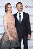 Ari Karpel and Hilary Swank