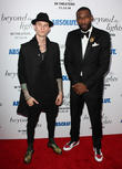 The Lights, Colson Baker, Machine Gun Kelly and Amar'e Stoudemire