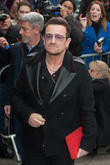 Bono Visits Memorial For Nice Attack Victims