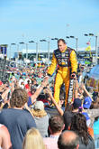 Ryan Newman and Driver Of The #31 Caterpillar Chevrolet