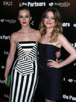 Leighton Meester and Gillian Jacobs