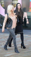 Hannah Spearritt and Tina Barrett