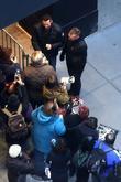 Hugh Jackman, Bodyguard and Fans