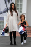 Kourtney Kardashian and Mason Disick