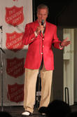 Pat Boone preforms at the annual Salvation Army Kettle Kick-Off