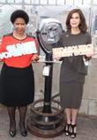 Phumzile-Ngcuka and Teri Hatcher