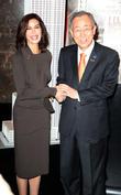 Teri Hatcher and Ban Ki-moon