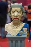 Lego Statue Of Queen Elizabeth Ii