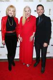 Francine York, Sally Kirkland and Mel England
