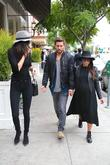 Kourtney Kardashian, Scott Disick and Kylie Jenner