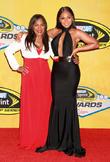 Ashanti and Tina Douglas