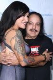 Tania Estrada and Ron Jeremy